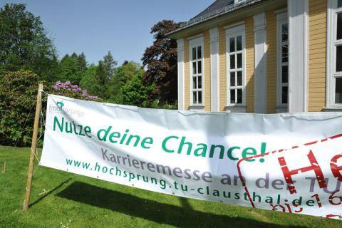 Am 11. Juni um 10 Uhr wird die Karrieremesse in der Clausthaler Aula eröffnet. Foto: Ernst