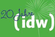 Seinen 20. Geburtstag feiert der idw (Informationsdienst Wissenschaft) im März in Berlin mit einer Tagung zur Zukunft der Wissenschaftskommunikation. Grafik: idw